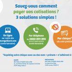 Savez-vous comment payer vos cotisation ? 3 solutions simples