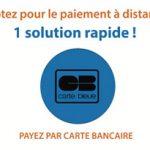 Payez par carte bancaire par téléphone ou sur notre site www.maregaillard.com
